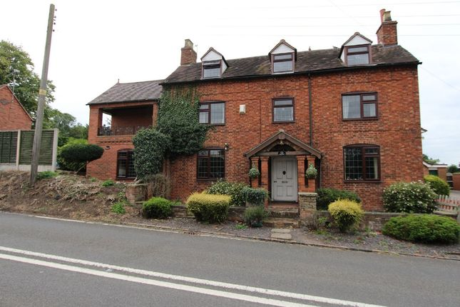 Thumbnail Detached house for sale in Burton Road, Elford, Tamworth