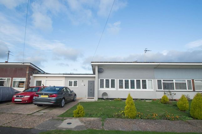 Thumbnail Bungalow for sale in The Square, Pevensey Bay, Pevensey