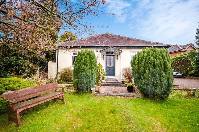 Thumbnail Detached bungalow for sale in 42 Ley Lane, Marple Bridge