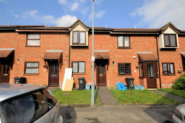 Thumbnail Terraced house to rent in Taunton Close, Ilford