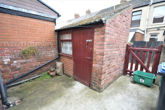 Rear Yard of Howlish View, Coundon, Bishop Auckland DL14