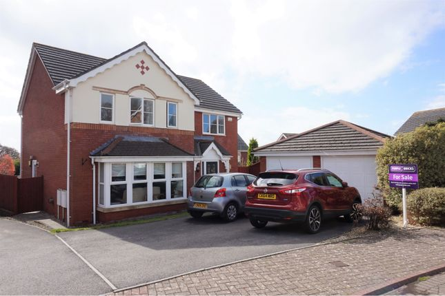 Thumbnail Detached house for sale in Dannog Y Coed, Barry