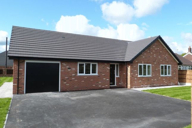 Thumbnail Detached bungalow for sale in Congleton Road North, Scholar Green, Stoke-On-Trent