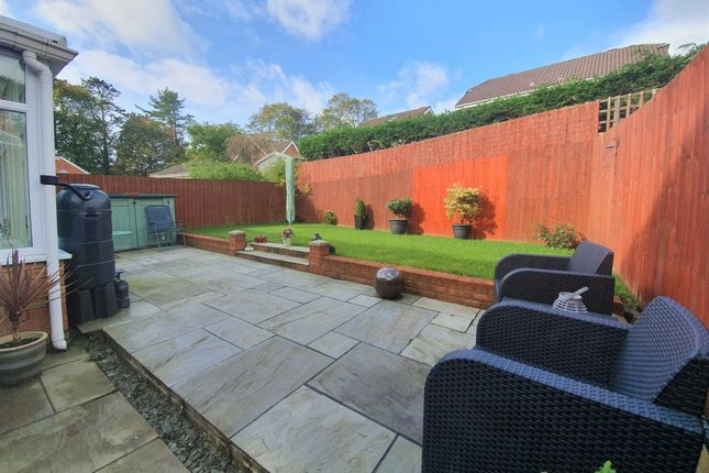 Garden of Gordon Rowley Way, The Alders, Morriston, Swansea SA6
