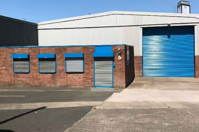 Thumbnail Light industrial to let in Unit 6 Springfield Estate Oldbury, West Midlands