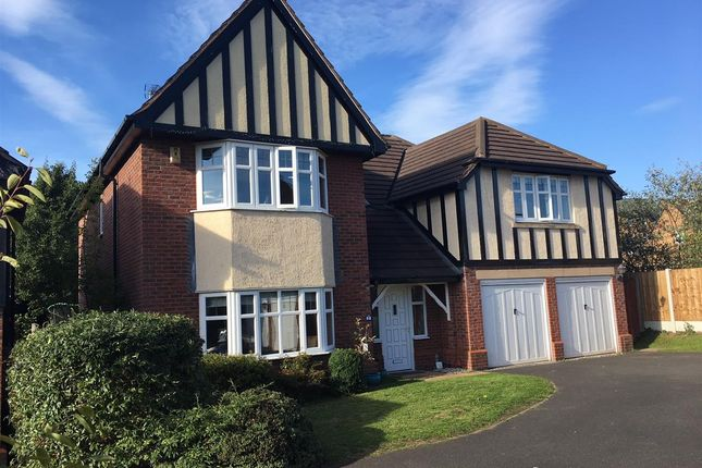 Thumbnail Detached house for sale in Hampton Gardens, Stafford