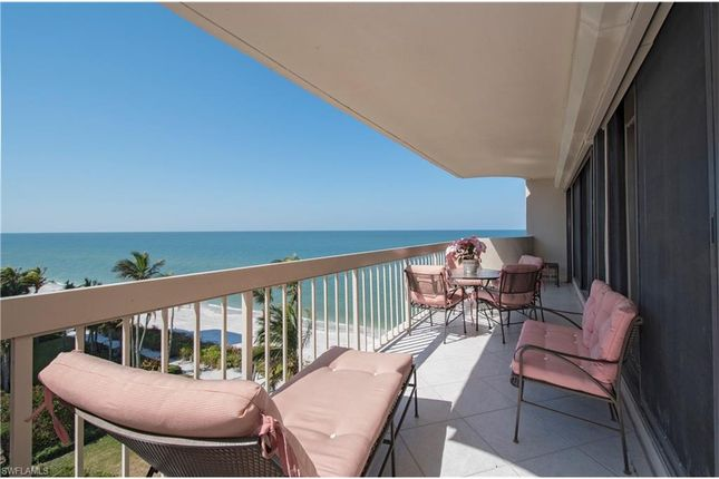 Thumbnail Town house for sale in 4005 Gulf Shore Blvd N 606, Naples, Fl, 34103