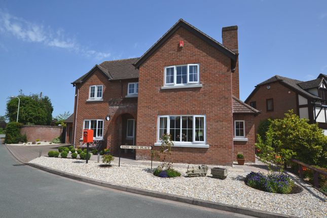 Thumbnail Detached house for sale in Millfield Drive, Market Drayton
