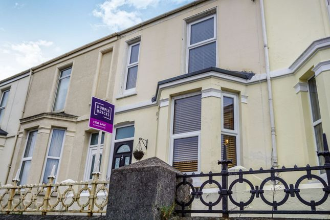 Thumbnail Terraced house for sale in Weston Park Road, Plymouth