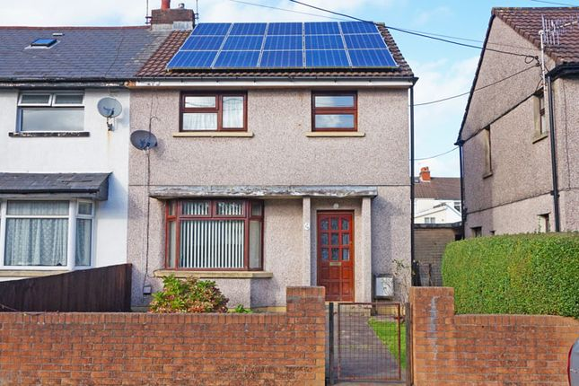 Thumbnail Semi-detached house for sale in Pant-Y-Celyn, Ystrad Mynach