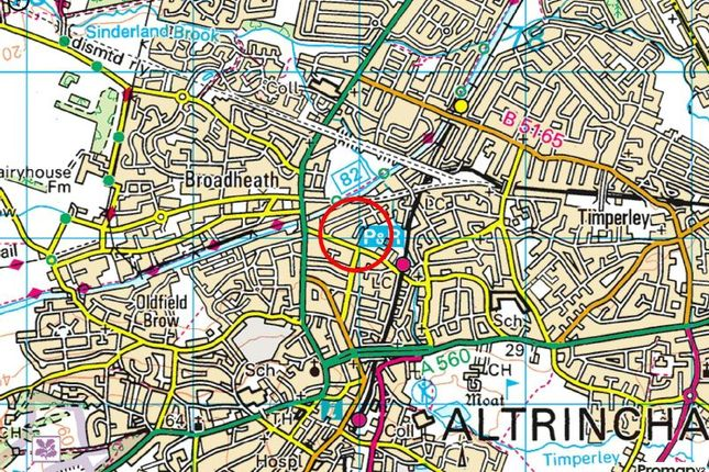 Town Plan of Brien Avenue, Altrincham WA14