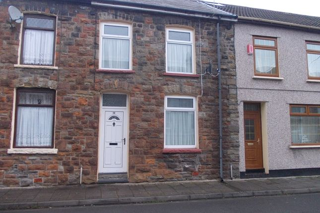 Thumbnail Terraced house to rent in Tynybedw Street, Treorchy, Rhondda, Cynon, Taff.