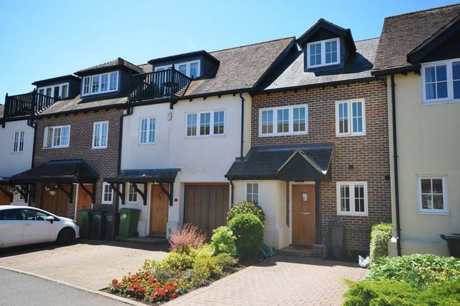Thumbnail Town house to rent in Mosse Court, Central Wickham, Fareham