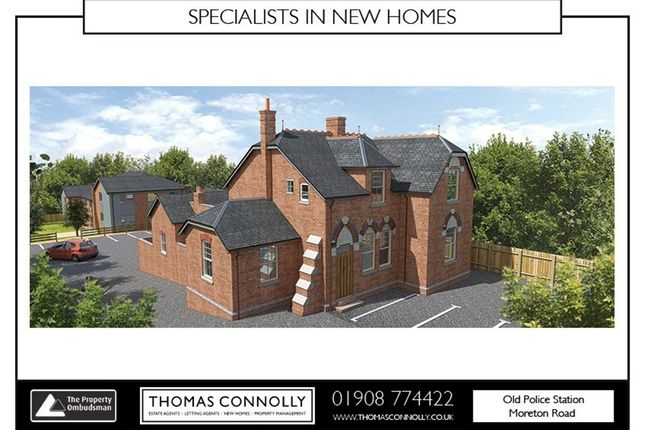 Thumbnail Flat for sale in Apartment 5, The Old Police Station, Moreton Road, Buckingham