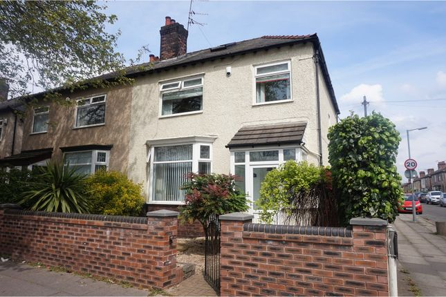 Thumbnail Semi-detached house for sale in St. Marys Road, Liverpool
