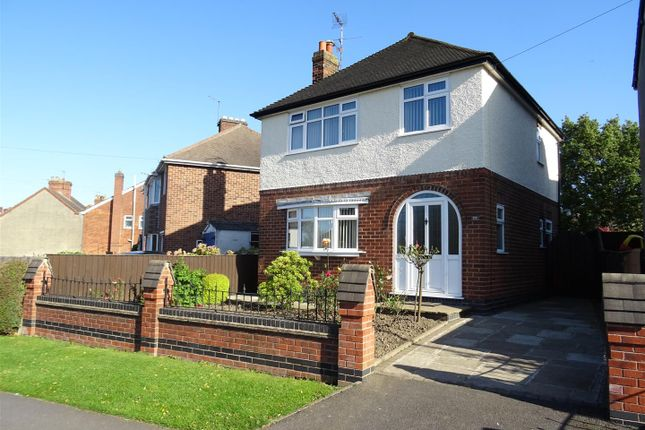 Thumbnail Detached house for sale in Silver Street, Whitwick, Leicestershire