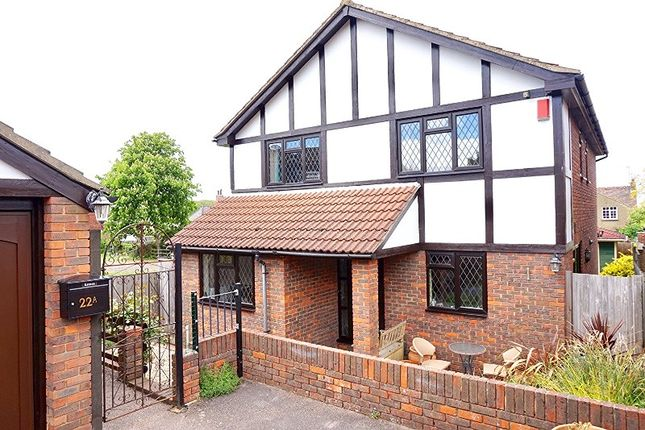 Thumbnail Detached house for sale in The Braes, Higham, Rochester