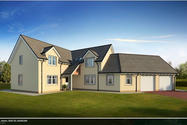 Thumbnail Detached house for sale in Plot 2 Marlefield Grove, Tibbermore, Perthshire