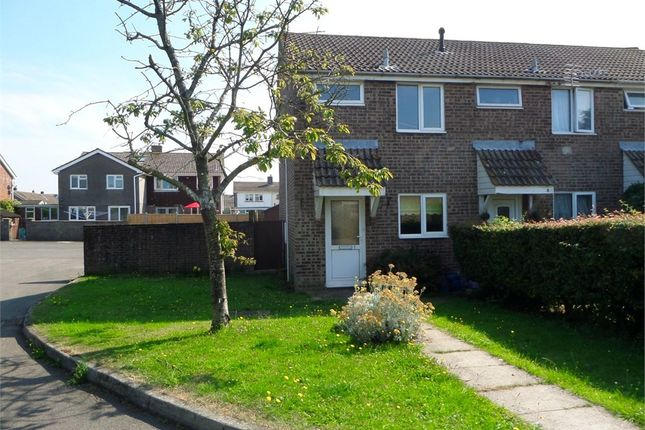 Thumbnail End terrace house to rent in Hawthorn Close, Bulwark, Chepstow, Monmouthshire