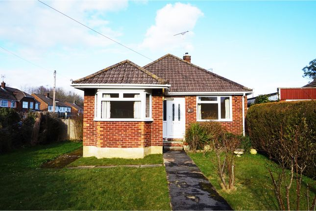 Thumbnail Detached bungalow for sale in Megan Road, Southampton