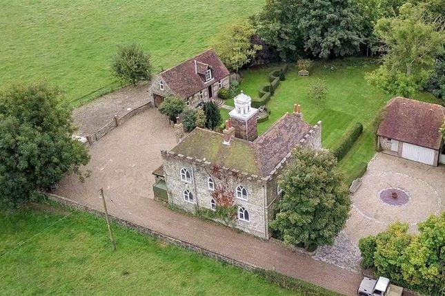 Thumbnail Detached house for sale in Beachborough, Newington, Folkestone, Kent