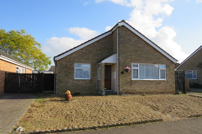 Thumbnail Detached bungalow for sale in Walnut Close, Foulden, Thetford