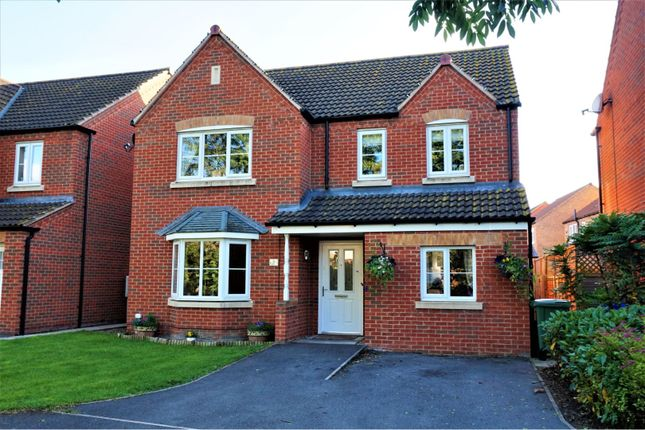 Thumbnail Detached house for sale in The Wickets, Warsop, Mansfield