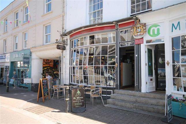 Thumbnail Restaurant/cafe for sale in De Wynns, 55, Church Street, Falmouth