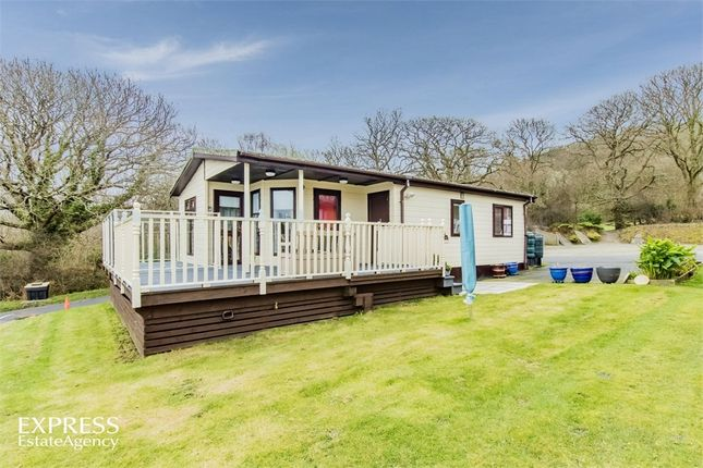 Thumbnail Detached bungalow for sale in Schooner Park, New Quay, Ceredigion