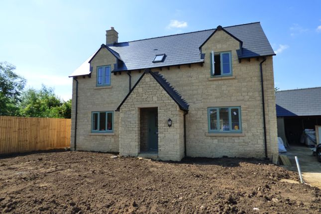 Thumbnail Detached house for sale in Courtfields, Latton, Swindon