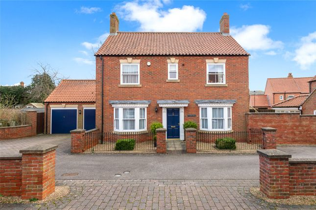 Thumbnail Detached house for sale in Kilmister Court, Wragby, Market Rasen, Lincolnshire