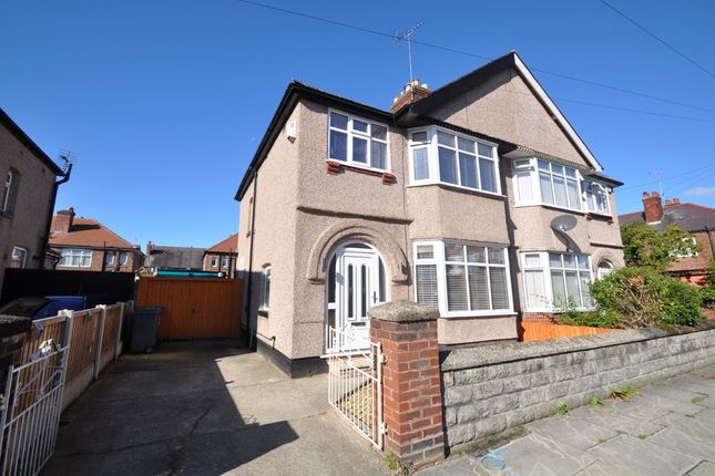 Thumbnail Semi-detached house to rent in Southcroft Road, Wallasey