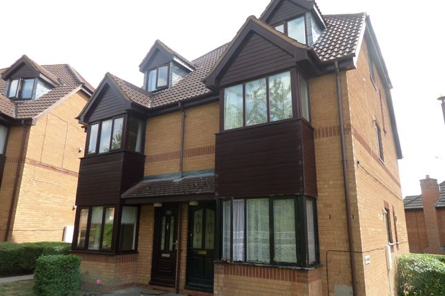 Thumbnail 1 bed flat to rent in Eelbrook Avenue, Bradwell Common, Milton Keynes