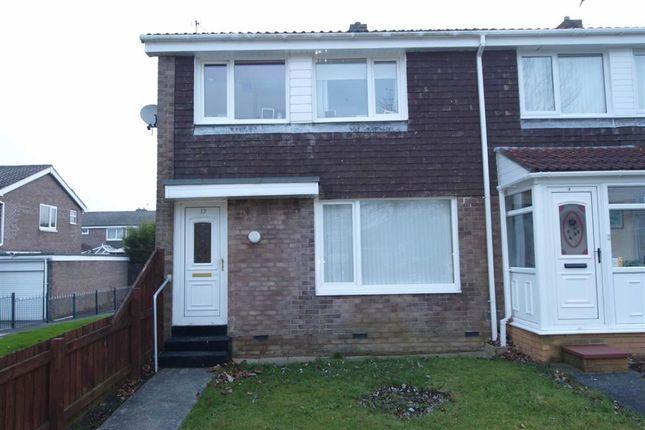 Thumbnail Terraced house to rent in Cranshaw Place, Cramlington