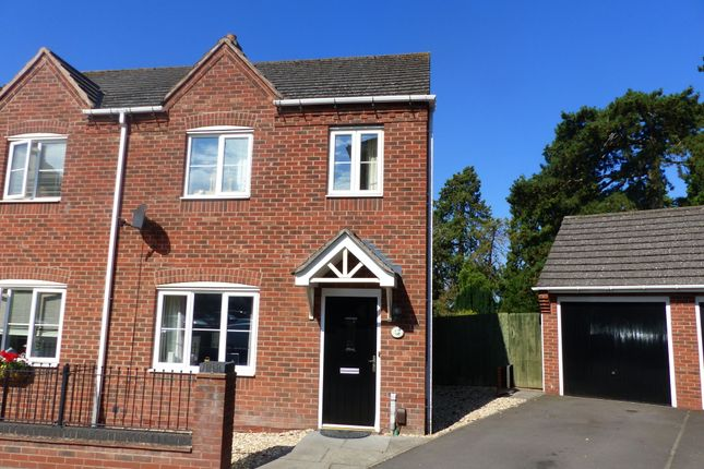 Thumbnail Semi-detached house to rent in Pooler Close, Wellington, Telford