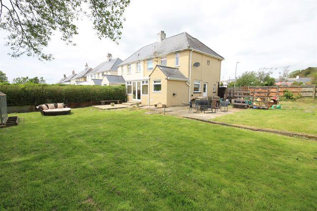Thumbnail Semi-detached house for sale in Fferm Goch, Llangan, Vale Of Glamorgan