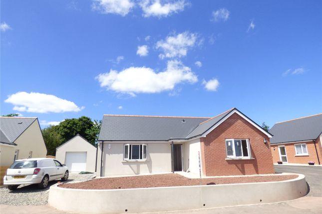 Thumbnail Detached bungalow for sale in Plot 6, Bowett Close, Hundleton, Pembroke