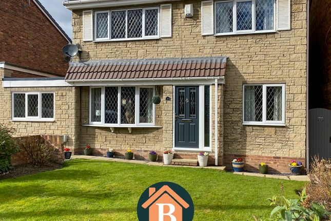 Thumbnail Link-detached house for sale in Denton Gardens, Ackworth