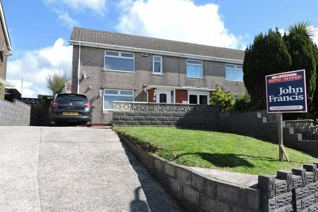 Thumbnail End terrace house for sale in Second Avenue, Clase, Swansea