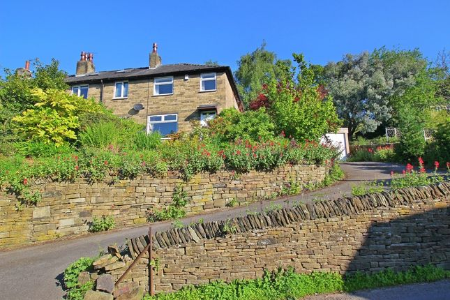 Thumbnail Terraced house to rent in Fairfields Road, Holmbridge, Holmfirth