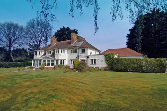 Thumbnail Detached house for sale in Croft Drive East, Caldy, Wirral