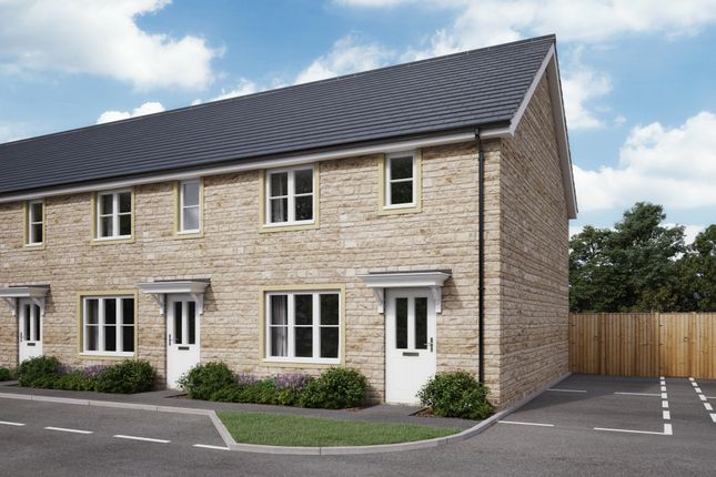 Thumbnail End terrace house for sale in Oxlease Way, Paulton, Somerset