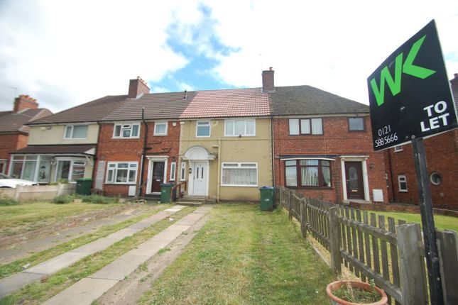 Thumbnail Terraced house to rent in Friar Park Road, Wednesbury