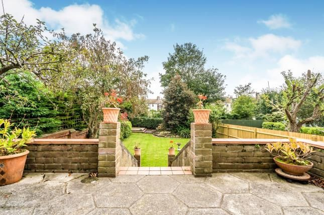 Garden of Wilbury Crescent, Hove, East Sussex, Uk BN3