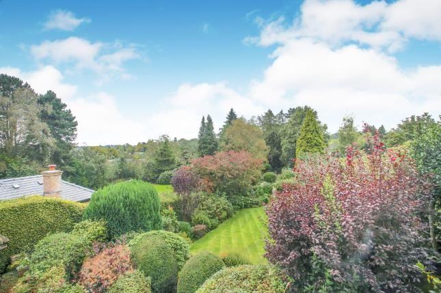 Rear Elevation of Castle Hill, Prestbury, Macclesfield, Cheshire SK10