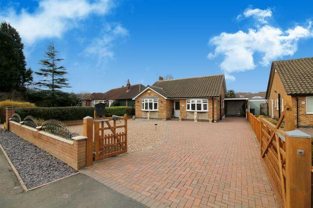 Thumbnail Detached bungalow for sale in Georges Lane, Calverton, Nottingham