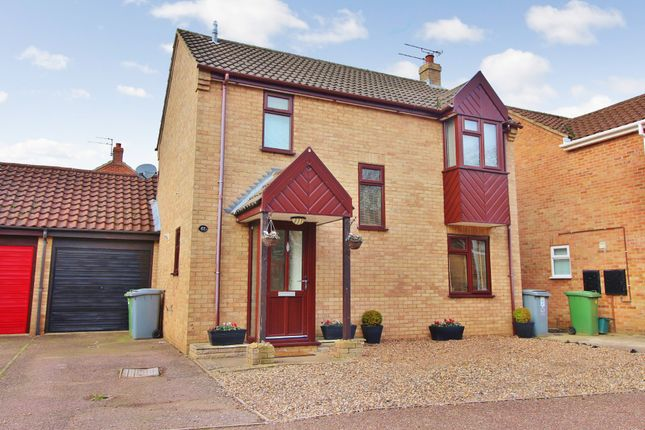 Thumbnail Detached house for sale in Shakespeare Way, Taverham, Norwich