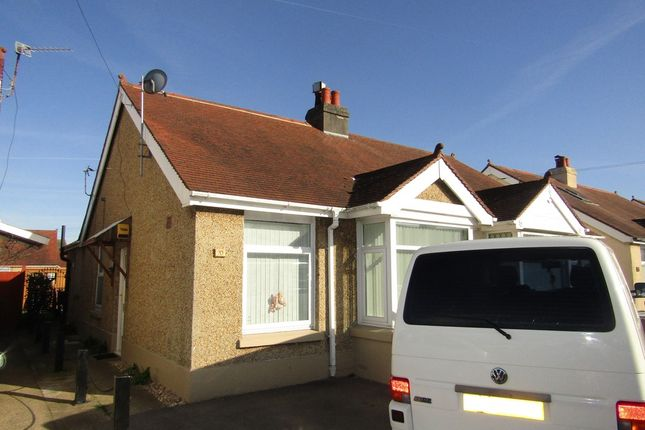 Thumbnail Semi-detached bungalow to rent in Northcroft Road, Gosport