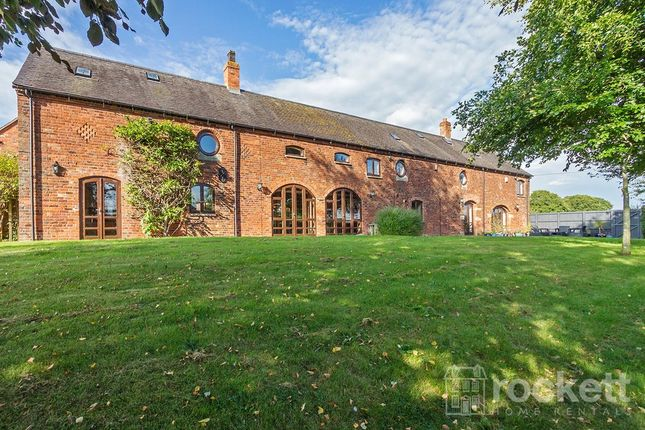 Thumbnail Barn conversion to rent in Heighley Lane, Betley, Crewe