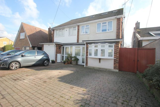 Thumbnail Semi-detached house for sale in Plumberow Avenue, Hockley